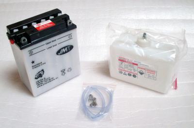 High-Power Batterie + Säurepack battery 12 Volt Kawasaki GPZ 400 550 600 GT 550