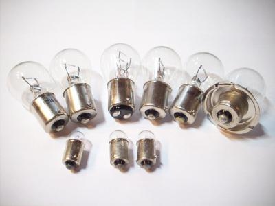 Birnensatz, Glühlampen + Scheinwerferbirne / Bulb Set Honda CY 50 - 6 Volt
