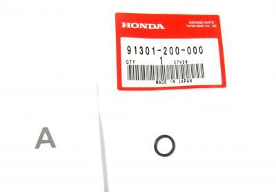 original O-Ring Ventilschaftführung - Seal Guide Valve Honda CB 450 500 550 650
