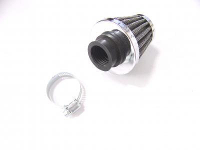 Universal Tuning Luftfilter mit Schelle air cleaner with clamp Honda - 28-29 mm