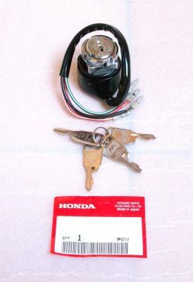Orig. Zündschloss Schloss 4 Schlüssel Ignition switch 4 keys Honda SS 50 S 110