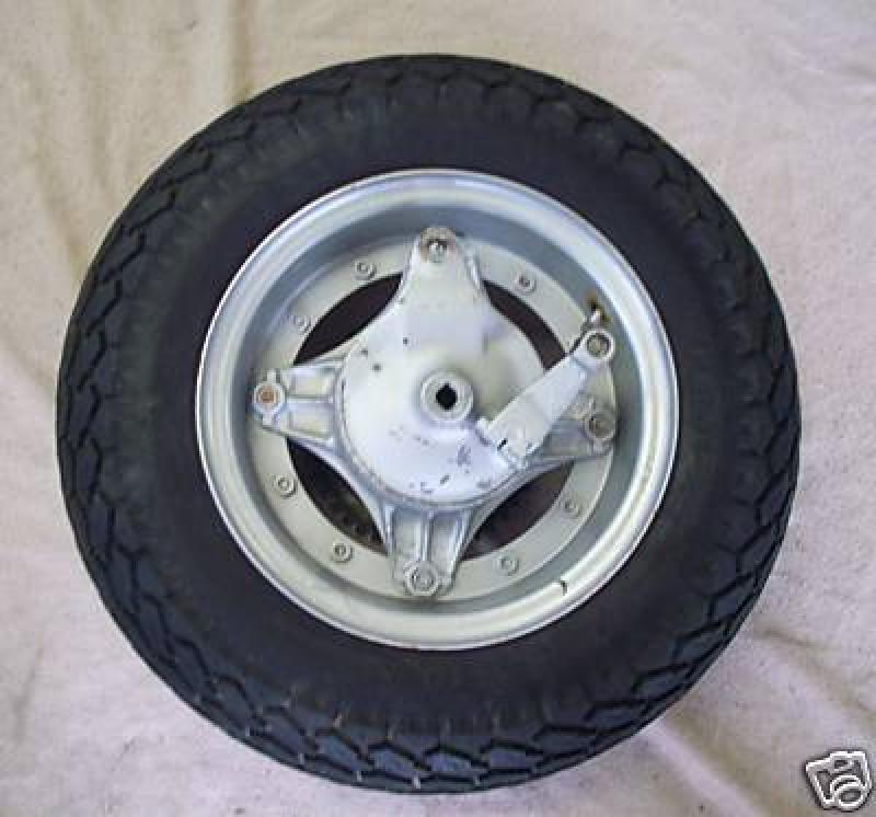 Hinterrad Felge Reifen Bremse komplett Honda CY 50 - TS ...