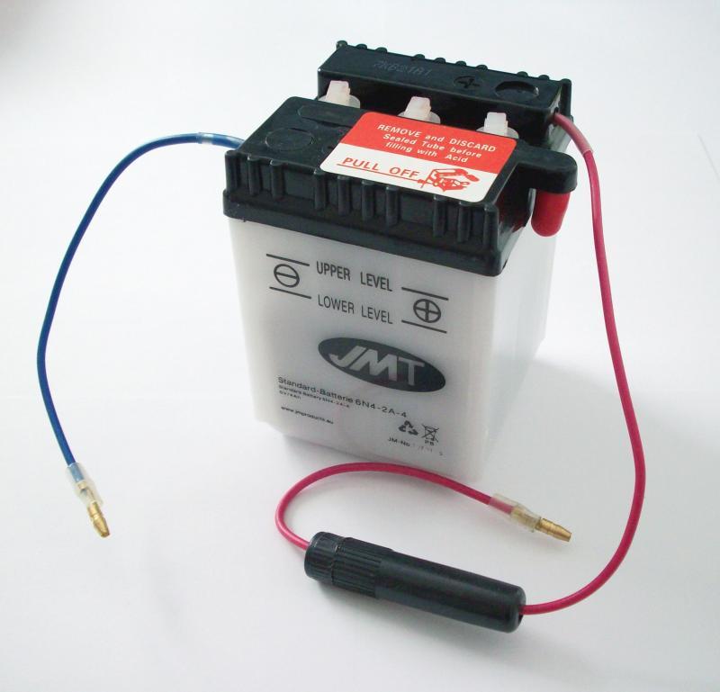 Batterie 6 Volt battery Honda C 50 70 90 CB CY Z 5 - TS ...