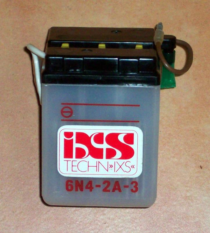 Batterie battery 6 Volt Honda CY 50 80, C CB Z XL - TS-Mororradteile ...