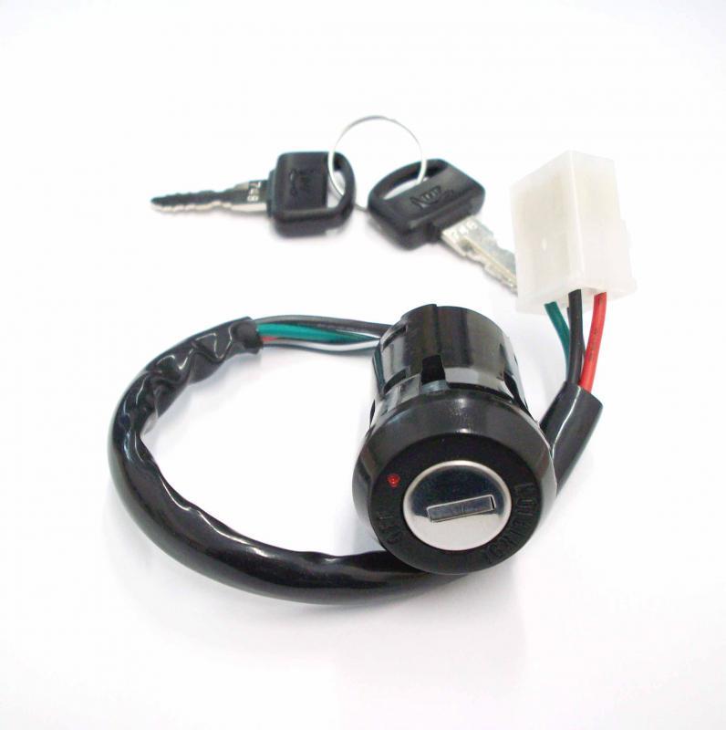 1x Zündschloss 2 Schlüssel ignition switch 2 keys Honda - TS ...