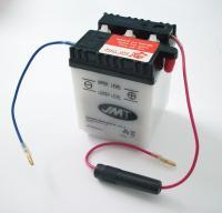 Batterie 6 Volt battery Honda C 50 70 90 CB CY Z 50 80 XL 50 185 250 500 NEU1