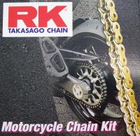 Original RK Kettensatz, Ritzel, Kettenrad / Chain Kit Honda Dax ST 50 - 6 Volt