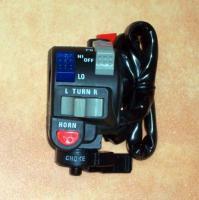 Lenkerschalter Lichtschalter Handlebar light switch Kawasaki KLR 650, KL 650 C