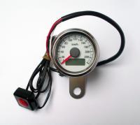 Universal Tacho Tachometer Speedometer 48mm für 19 Räder Honda Yamaha Suzuki