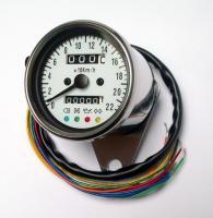 Universal Tacho Tachometer Speedometer 60mm für 19 Räder Honda Yamaha Suzuki