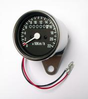Universal Tacho Tachometer Speedometer 65mm für 19 Räder Honda Yamaha Suzuki