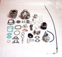 Tuning Zylinder Vergaser Zylinderkopf Kit 88ccm + Nockenwelle Motor Honda Z 50