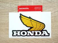1x Aufkleber Emblem A rechts Label Emblem A right side Tank Honda XL XR 80 100