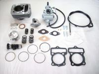 Tuning Cylinder Carburetor Kit 80ccm + camshaft f. engine Honda CB CY XL 50 NEU