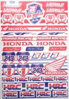 Aufkleber Sticker Dekor Satz Sponsor Enduro Honda CRF Racing HRC Gariboldi