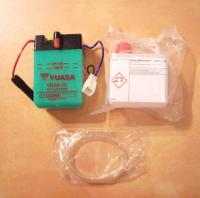 Batterie mit Säurepack Battery incl. acid Honda Dax ST 50, Monkey Z 50J - 6 Volt