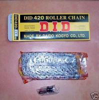 Kette offen mit Clipschloss Chain open incl. clip lock Honda CY 50, C 70, C 90