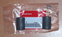 2 x Schwingenlager Lager Schwinge Rear Bush Rubber Pivot Honda CY CB XL 50 NEU