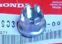 Orig. Mutter Steckachse Achse Vorderrad axle nut front Honda ATC 110 125 185 200