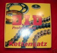 Original D.I.D Kettensatz, Ritzel, Kettenrad / Chain Kit Honda CY 50, CY50 - NEU